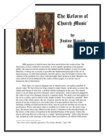 Ward on Sacred Music Reform