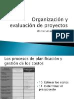 Organización y Evaluación de Proyectos_presentación 5_PRESUPUESTO