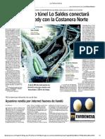 Las Últimas Noticias Tunel en Santiago