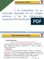 2. Estructura Atómica