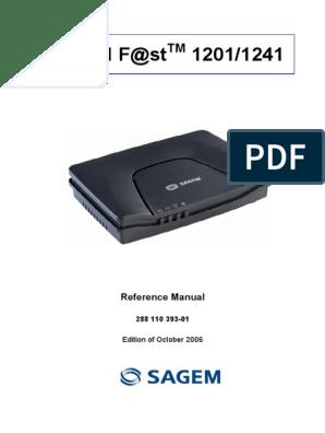 DRIVER 1201 [emailprotected TÉLÉCHARGER SAGEM MODEM