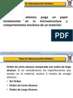 3. Organización Atómica