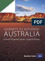 Lonely Planet, Journeys to Authentic Australia