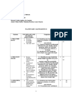 CLASA IV BOOKLET planificare + proiectare