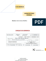 Cheque Gerencial