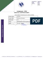 Digital Answer Sheet-e-business Principle