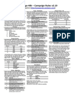 1p40k - Campaign Rules v2.19