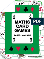 Maths Card Games