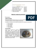 Metodos y Equipo de Perforacion.