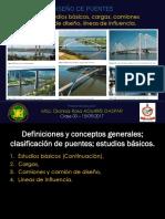 Puentes - 4 Estudios Básicos, Camion de Diseño, Líneas de Influencia (Completo) (1)