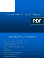 Flow element sizing & Design(DNARAYAN).ppt