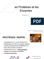 Cours 17-ProteinesEnzymes Etudiants2