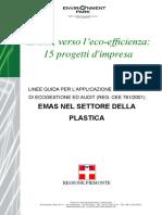 ARPA Piemonte - EMAS Nel Settore Della Plastica