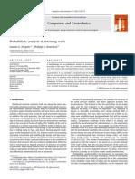 Probabilistic analysis of retaining walls.pdf
