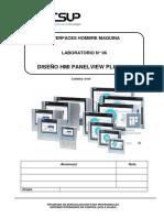 Lab 06 - HMI - Diseño HMI - PV 600 Plus