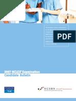 NCLEX 2007 Bulletin
