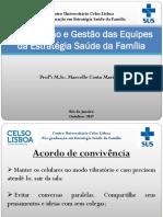 Aula - Organizacao e Gestao Das Equipes Da ESF