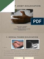 2017 QATAR Thumb Dislocation