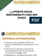 CSR & Ethics