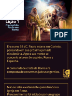 Licao 1 O Apostolo Paulo Em Roma
