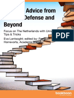 Top Phd Advice From Start to Defense and Beyond