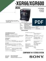 HCD-XGR66 XGR600