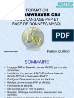 Formation Dreamweaver Cs4 Php Mysql