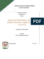 Reporte Sabinas y Madero