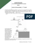 Problemas Integradores – Física 1