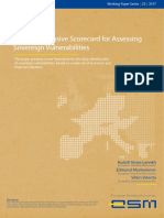 A Comprehensive Scorecard for Assessing Sovereign Vulnerabilities