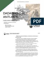 Dadaismo en el contexto Vanguardista