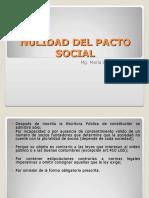 Nulidad Del Pacto Social