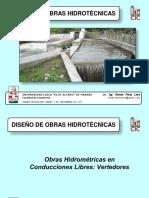 Clase 2 Obras Hidrométricas en Conducciones Libres Vertedores-1509331212