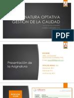 Clase 1-1508863828. Presentación de La Asignatura. Presentación de La Asignatura. Presentación de La Asignatura
