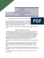 Hamyar Energy NFPA 291 - 2007