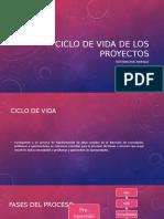 Ciclo de Vida de Los Proyectos - Estefania Ruiz
