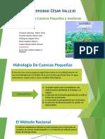 Hidrología de Cuencas Pequeñas y Medianas