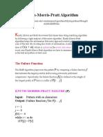 Knuth-Morris-Pratt Algorithm KENT.doc