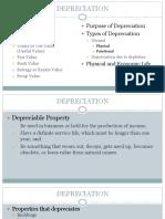 3 Depreciation