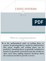 Queueing Systems