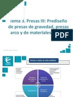 Presentación_M2T3_ Presas III-Prediseño de Presas de Gravedad, Presas Arco y de Materiales Sueltos (1)