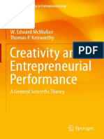 Creativity and Entreperunial Performance