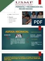 Asfixia Perinatal y Reanimación Del Recién Nacido