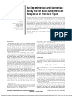 De Sousa Et Al. - 2012 - An Experimental and Numerical Study on the Axial Compression Response of Flexible Pipes