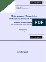 7th Mudarabah and Musharakah