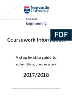Coursework Step by Step Guide for Students 1718