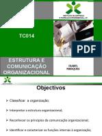 Estrutura e comunicação orgnizacional