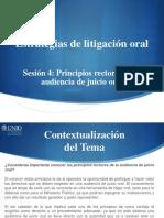 Estrategias de Litigacion Oral