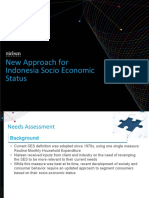 Nielsen New Approach for Indonesia Socio Economic Status to Share