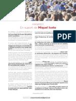 Manifiesto en Apoyo a Miquel Iceta El 21D